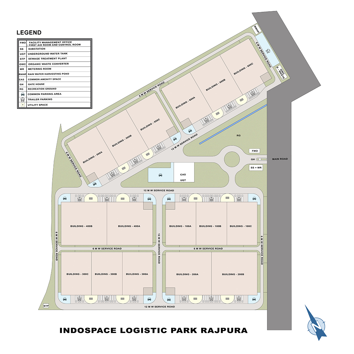 IndoSpace Logistics Park Rajpura