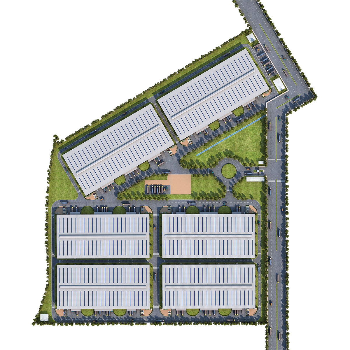 IndoSpace Rajpura Top View