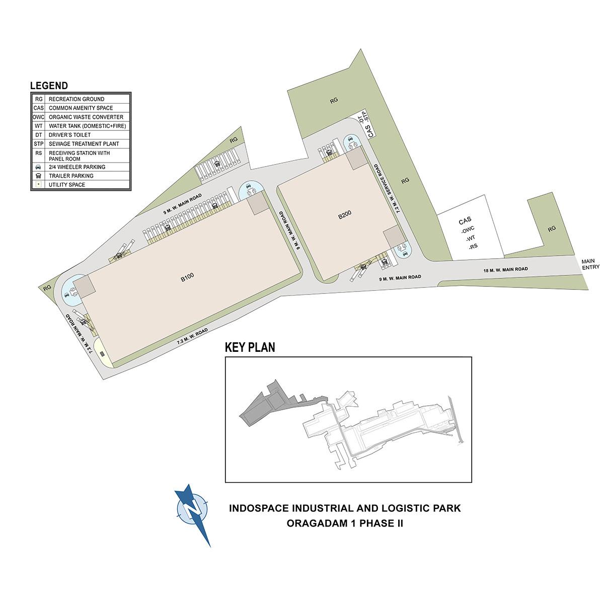IndoSpace Oragadam II Phase II Master Plan