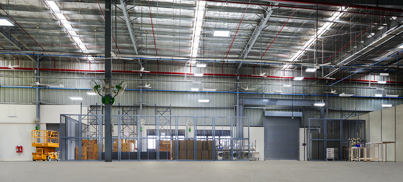 Inside Structure Warehouse