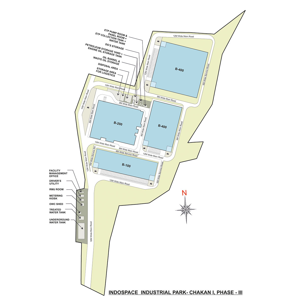 IndoSpace industrial Park Chakan I Phase II