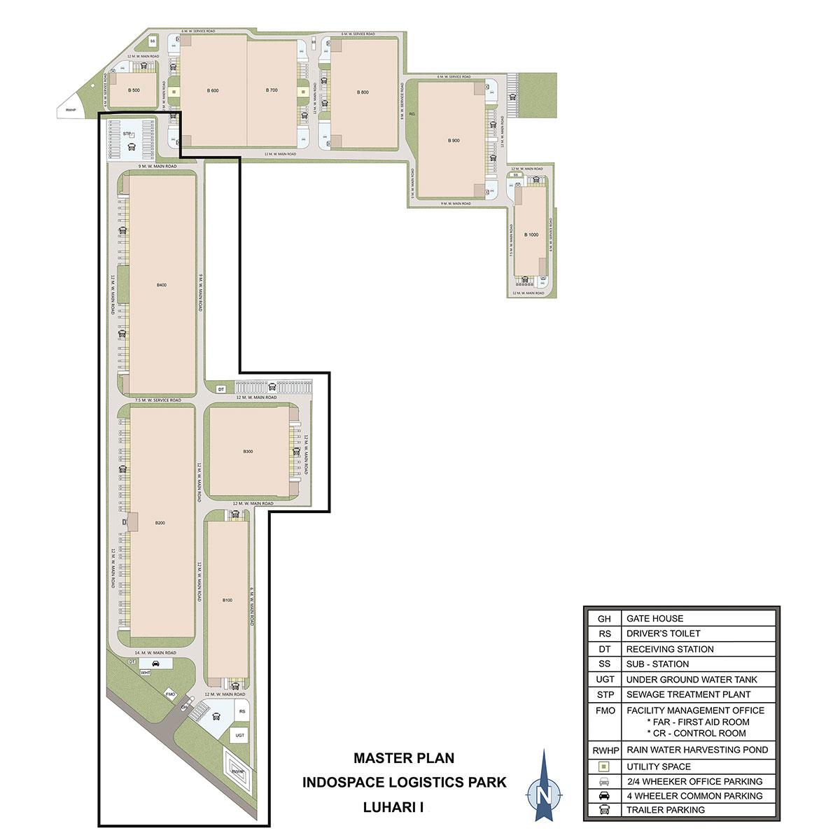Luhari Warehouse Masterplan