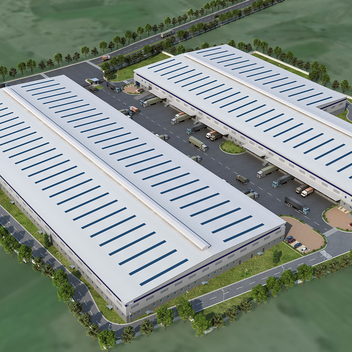 IndoSpace Meva Warehouse