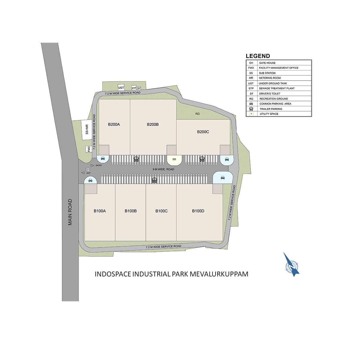 Mevalurkuppam Warehouse Masterplan